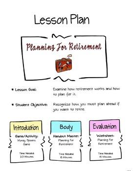 Planning For Retirement Lesson