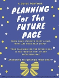"""Planning For The Future Page Guide - The """"Bow On Top"""" of A"""