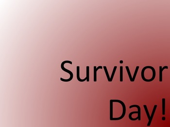 Planning Form for SURVIVOR DAY!
