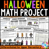 Planning Halloween Math Project: {DIFFERENTIATED} Real Wor
