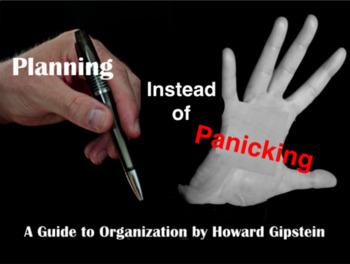 Planning Instead of Panicking