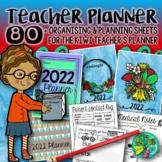 Planning & Organising Sheets {for the Kiwi Teacher's Planner)