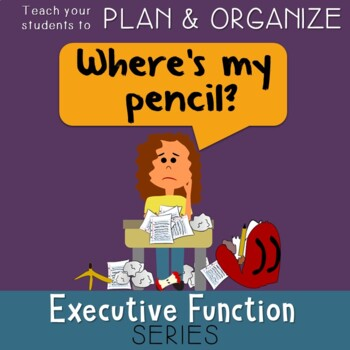 Executive Functioning Checklist Worksheets & Teaching