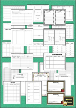 Editable Planning and Admin Pack