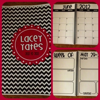 Planning Pack-Weekly, Monthly and Long Range Planning!