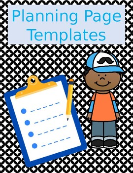 Planning Page Templates