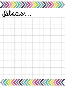 Planning Pages