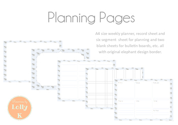 Planning Pages Pack
