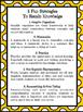 Planning Poster - 5 Fun Ways to Retain Knowledge