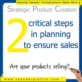 Planning Products that Sell