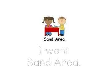 Planning Sheet-Sand Area