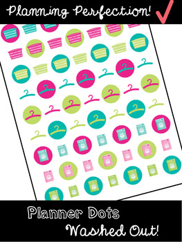 Planning Stickers: Wash Out!