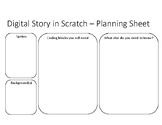 Planning Worksheet for Digital Story in Scratch