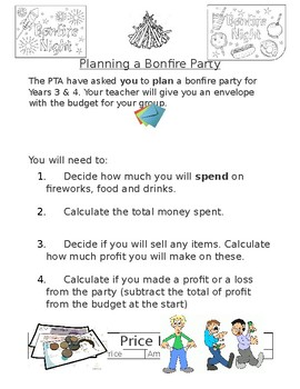 Planning a Bonfire Party