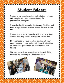 Planning a College and Career Fair