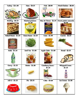 Planning a Family Feast {Rounding to the Nearest Dollar}