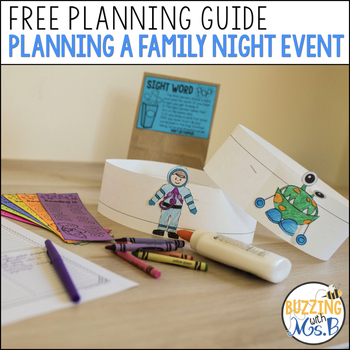 Planning a Family Night Guide Freebie