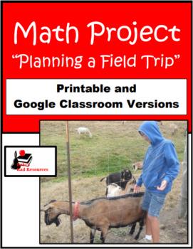 Planning a Field Trip - Math Project