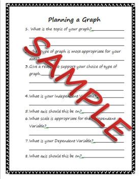Planning a Graph Worksheet