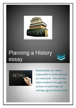 Planning a History Essay