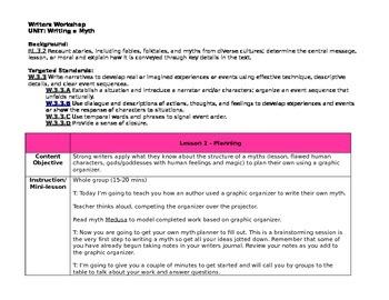 Planning a Myth (Editable)