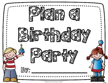 Planning a Party-Project Based Learning