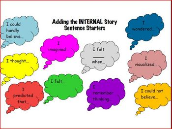 Planning a Personal Narrative Pack