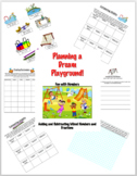 Planning a Playground - Project Based Learning Adding and Subtracting Fractions