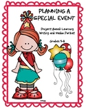 Ontario Writing and Media: Planning a Special Event (Project Based Learning)