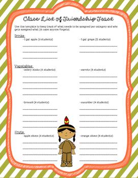 Planning a Thanksgiving Friendship Feast