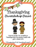 Planning a Thanksgiving Friendship Feast