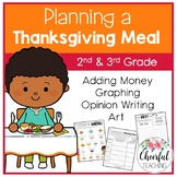 Planning a Thanksgiving Meal: Adding Money, Graphing, & Op
