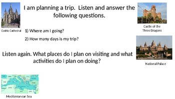 Planning a Trip