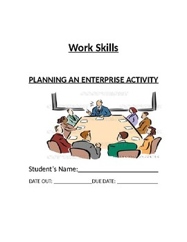 Planning an Enterprise Activity