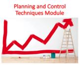 Planning and Control Techniques Module (Management)