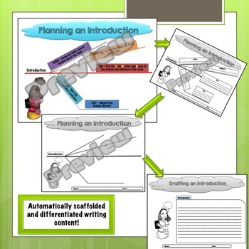 Planning and Drafting a Circular Introduction and Conclusion Bundle