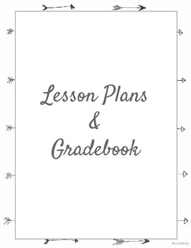 Planning and Gradebook (Arrows)