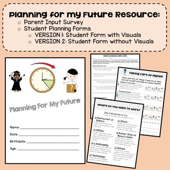 Planning for My Future {Transition Planning for Students with Special Needs}
