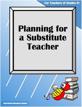 Planning for a Substitute Teacher