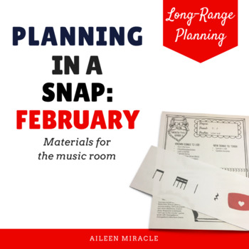 Music Lesson Overview {February}