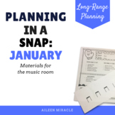 Music Planning in a Snap {January}