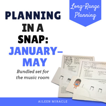 Music Lesson Overview {January-May Bundled Set}