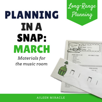 Music Planning in a Snap {March}