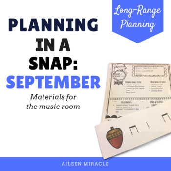 Planning in a Snap {September}