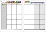 Planning mensual en español
