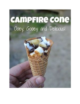 Planning, organizing, and sequencing activity: Make your own campfire cone