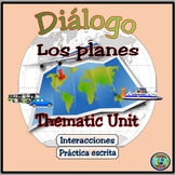 Travel Unit: Plans For A Vacation Dialogue and Thematic Activities - Hacer viaje