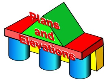 Plans and Elevations using multi-link cubes