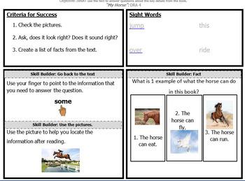 Plans for Okapi Flying Start to Literacy Books DRA 4 - Nonfiction