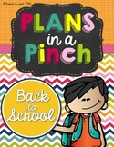Back to School PowerPoint and Activities for Grades 3-6
